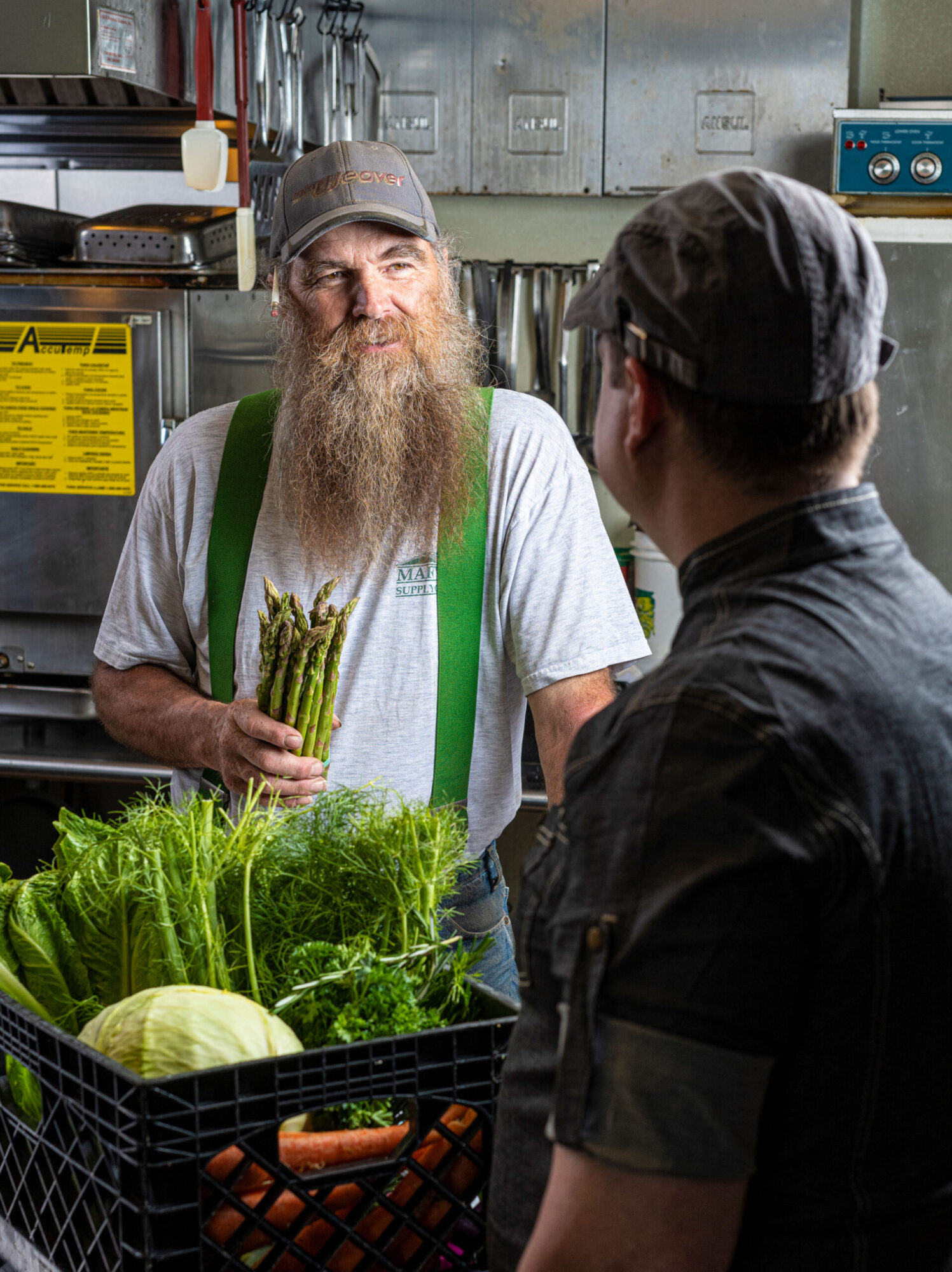 Spinnerstown buys produce from local farmers